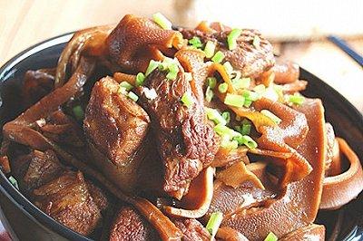 水笋红烧肉