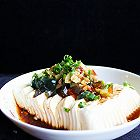 夏日清凉―皮蛋拌豆腐