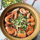 鲜虾榨菜牛肉煲仔饭
