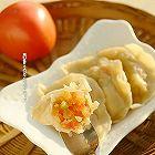 榨菜西红柿水饺