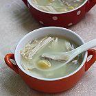 冬季暖身白果腐竹猪肚汤