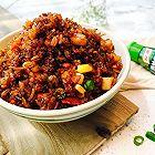 培根杏鲍菇酱油炒饭