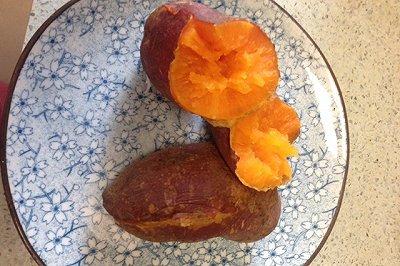 微波烤红薯