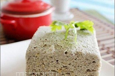 微波低卡无油豆渣蛋糕