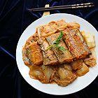 刀鱼扒白菜