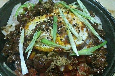 什锦石锅拌饭