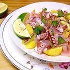 薄荷章鱼土豆沙拉