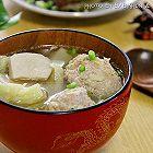 包菜肉丸汤