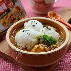 胡萝卜丸子咖喱饭团