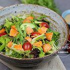 三文鱼蔬菜沙拉
