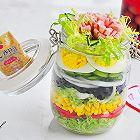 彩虹蔬菜沙拉罐