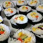 鸡肉蔬菜寿司