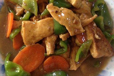 煎豆腐家常豆腐