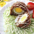牛肉苏格兰蛋荞麦饭团
