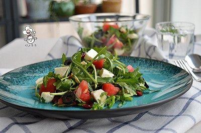 马苏里拉蔬菜沙拉