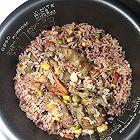 番茄肥牛电饭锅焖饭