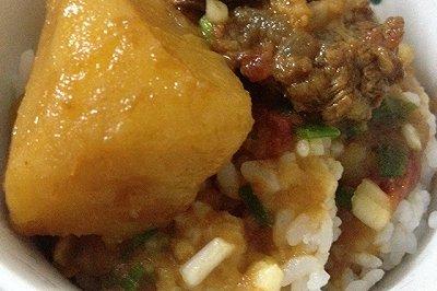 家常牛肉炖土豆