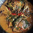 铁锅炖淡水白鲳鱼