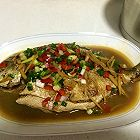 家常菜―红烧金鲳鱼