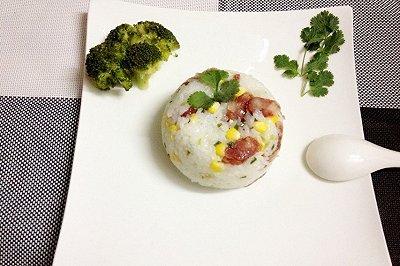 超级简单的电饭锅腊肠饭