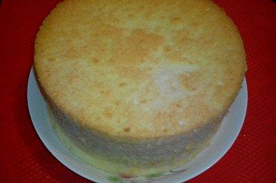 电饭煲版本戚风蛋糕