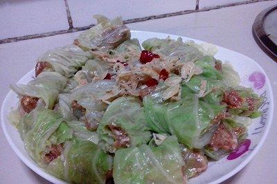 电饭煲 清蒸白菜卷