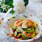 热带泰式海鲜沙拉