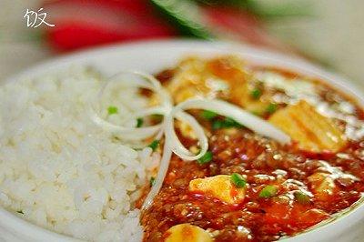 豆花牛肉烩饭