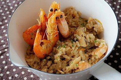 意大利海鲜烩饭