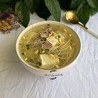 黄豆芽肉片汤
