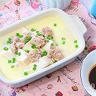 猪肉豆腐蒸水蛋