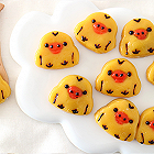 小黄鸡Q弹南瓜饼