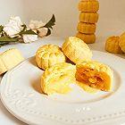 仿香港美心流心奶黄月饼