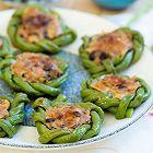 花环豇豆酿肉