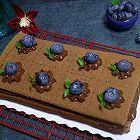 蓝莓香蕉巧克力蛋糕