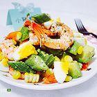 鲜虾牛油果减脂瘦身沙拉