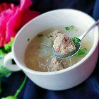 冬瓜羊肉丸子粉丝汤
