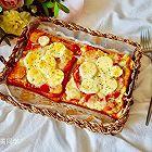 快手早餐―鸡蛋吐司披萨