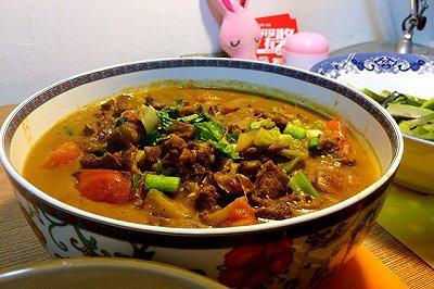 番茄咖喱牛肉