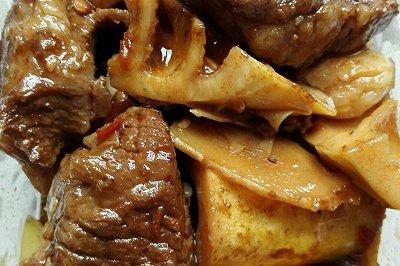 笋子烧牛肉