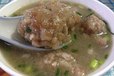梅州家乡菜客家猪肉丸