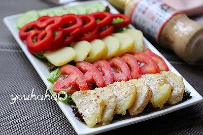 芝香蔬菜沙拉