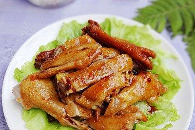 压力锅版酱香盐焗鸡