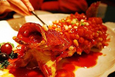 舌尖上的中国一松鼠桂鱼
