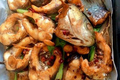 家庭简单版烤鱼