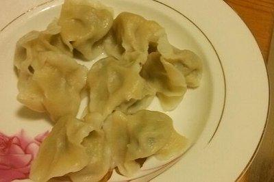 黄花鱼饺子
