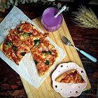 改良版火腿披萨