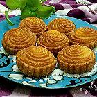 奶香豆沙南瓜饼
