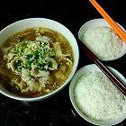 鱼片泡菜汤
