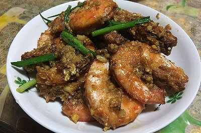 咸蛋黄�h虾